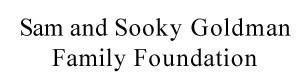 Goldman Foundation logo