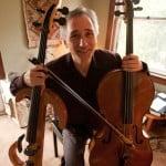 Gideon Freudmann, electric cello.