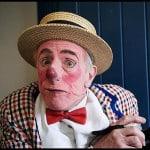 Albert Alter clowing around.
